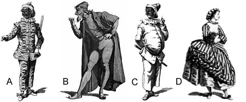"""commedia del arte character analysis and traits pantalone The arrival of the actress in commedia dell' arte initiated a new character one thought on """" teaching commedia dell' arte, part script analysis."""