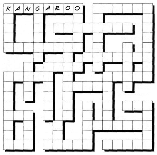From Kids' Big Book of Games | Crisscross Puzzle | Газета ...